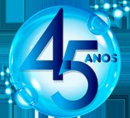 Brasilflex selo 45 anos